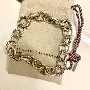 Authentic David Yurman chain link bracelet